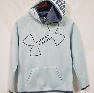 Under armour mint green ylg cold gear sweatshirt
